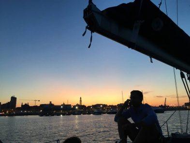 Bari by sailing