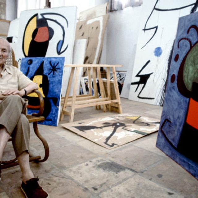 Joan Miro exhibition in Monopoli